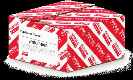 New Genuine OEM Part 90980-04083 Toyota Condenser 9098004083