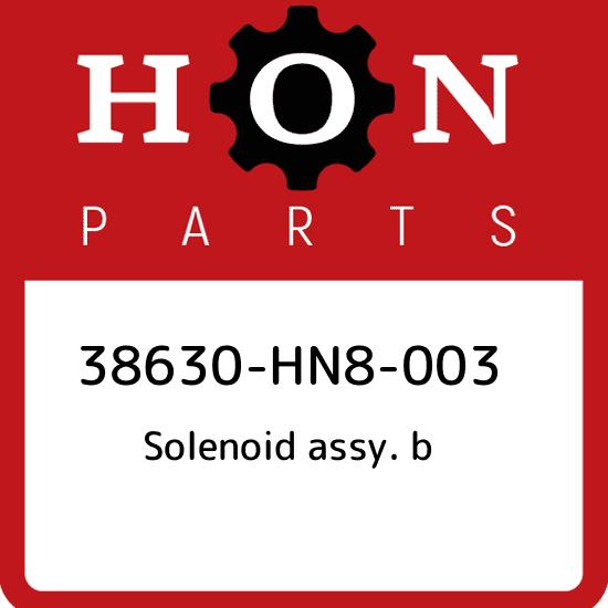 B HONDA 38630-HN8-003 SOLENOID ASSY