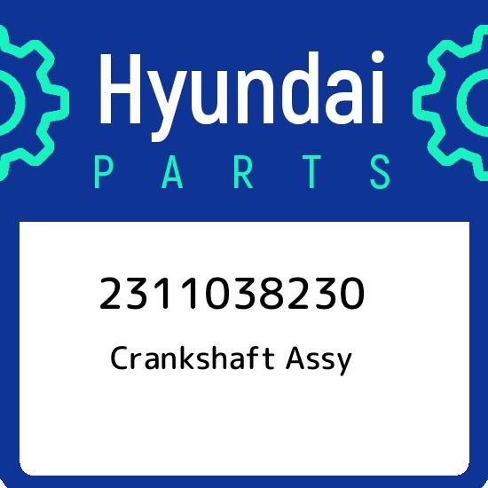 Genuine Hyundai 23120-35500 Crankshaft Sprocket