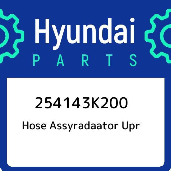 HYUNDAI 25414-3K200 Hose Assy-Radiator,UPR