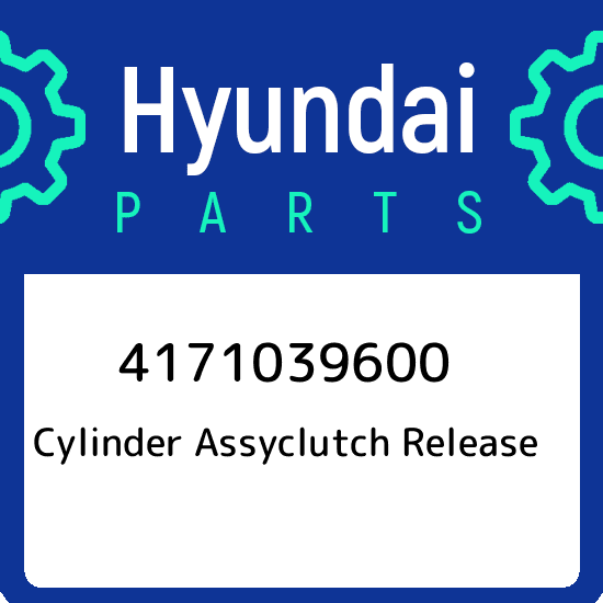 Genuine Hyundai 41710-39600 Clutch Release Cylinder Assembly