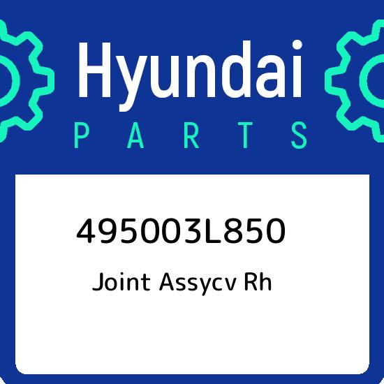Genuine Hyundai 49500-3J100 CV Joint Assembly Right