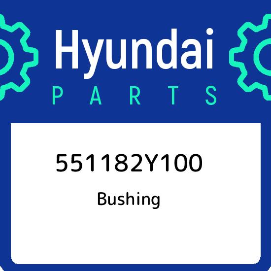 KIA BUSHING 551182S100 Genuine Hyundai