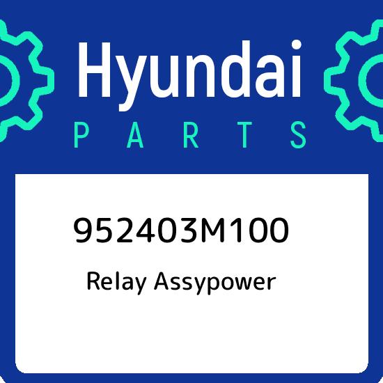 Genuine Hyundai 95240-3X200 Power Relay Assembly