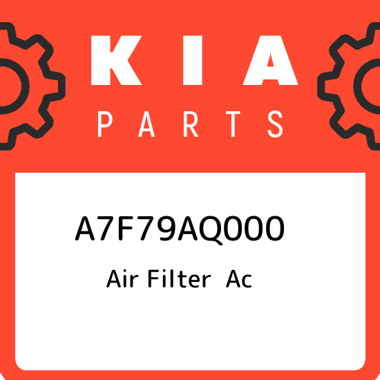 2011-2015 KIA SORENTO GENUINE PREMIUM CABIN AIR FILTER 1UC79 AQ000