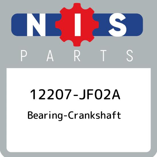 Genuine Toyota 11701-21040-02 Crankshaft Bearing