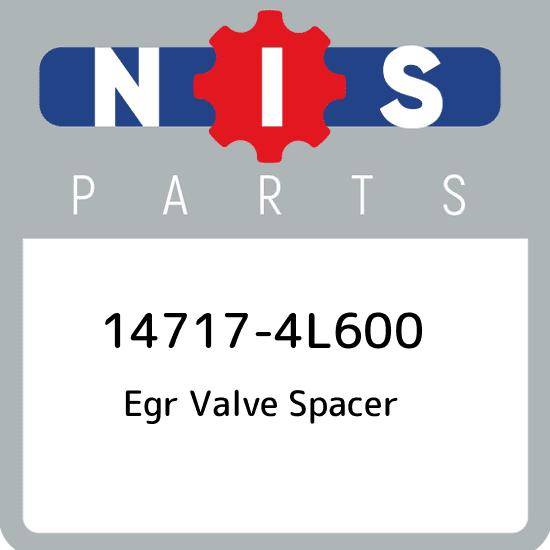 14717-4L600 Nissan Egr valve spacer 147174L600, New Genuine OEM ...