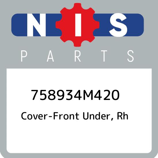 Genuine Nissan Under Cover RH ONLY 75893-4M420