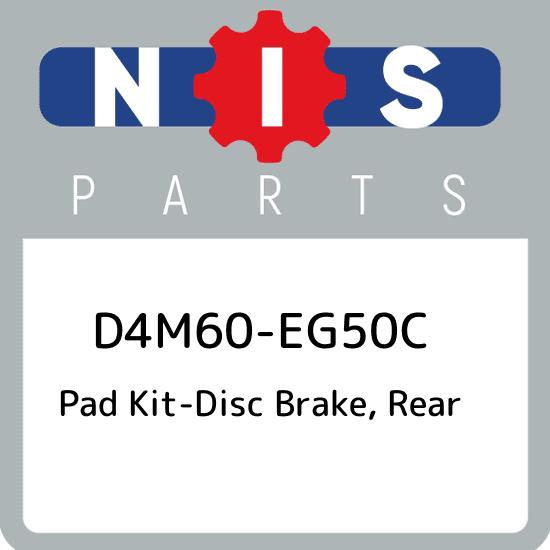 Genuine Infiniti Brake Pads D4M60-EG50C