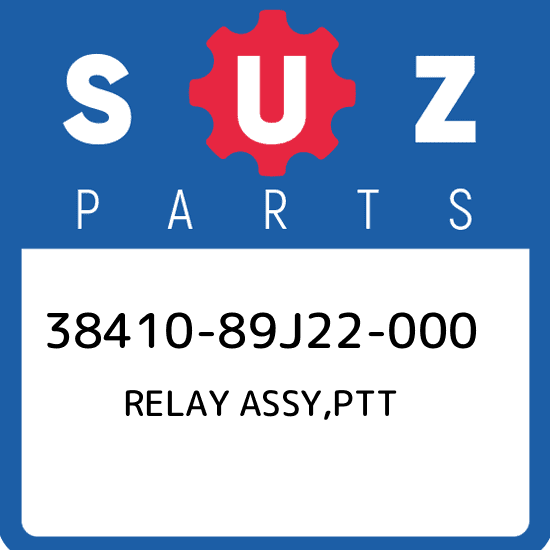 New Genuine OEM Part 38410-89J22-000 Suzuki Relay assy,ptt 3841089J22000