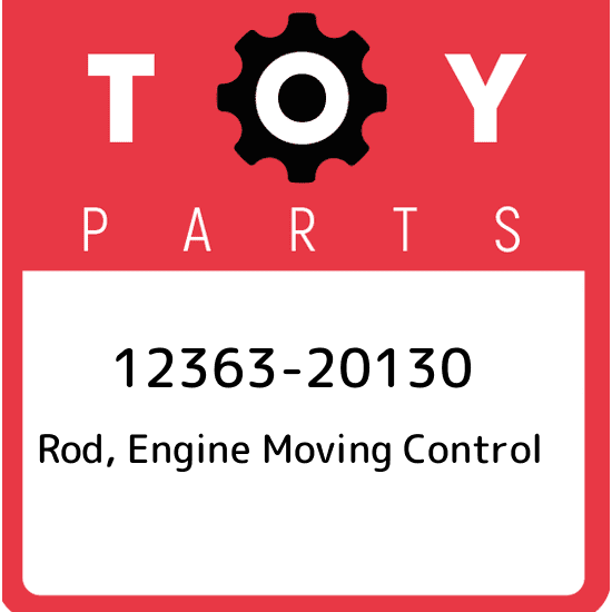 Toyota 12363-20130 Engine Moving Control Rod