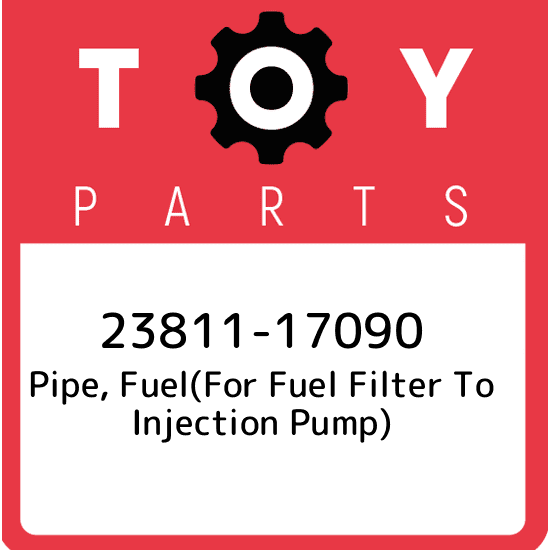 2381117090 PIPE, FUEL(FOR FUEL FILTER TO INJECTION PUMP)