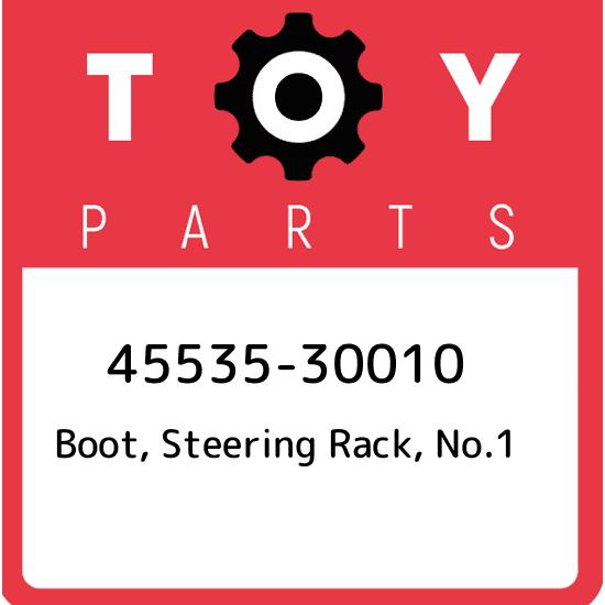 NO.1 4553530010 45535-30010 GENUINE OEM STEERING RACK BOOT