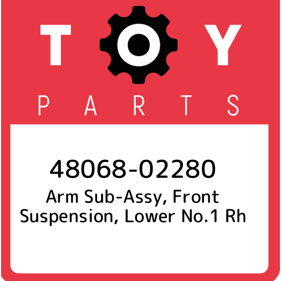 Toyota 48068-60051 Suspension Arm Sub Assembly