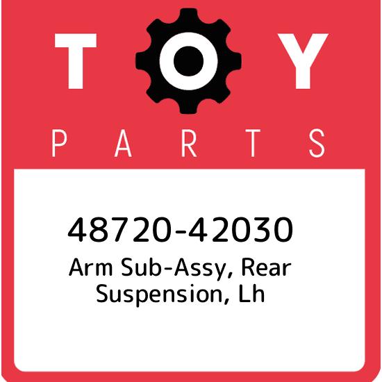 6864042030 Genuine Toyota CHECK ASSY REAR DOOR LH 68640-42030