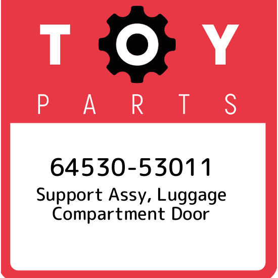 Toyota 64511-AC030 Luggage Compartment Door Hinge Support