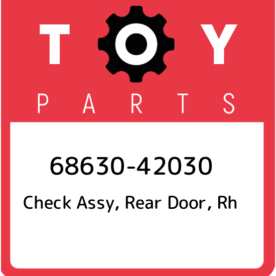 Toyota 68630-07020 Door Check Assembly
