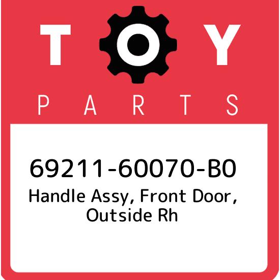 TOYOTA OEM 10-16 4Runner-Outside Exterior Door Handle 6921160070B1