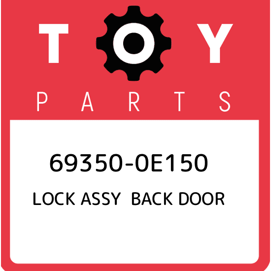 New Genuine OEM Part 69350-52391 Toyota Lock assy back door 6935052391
