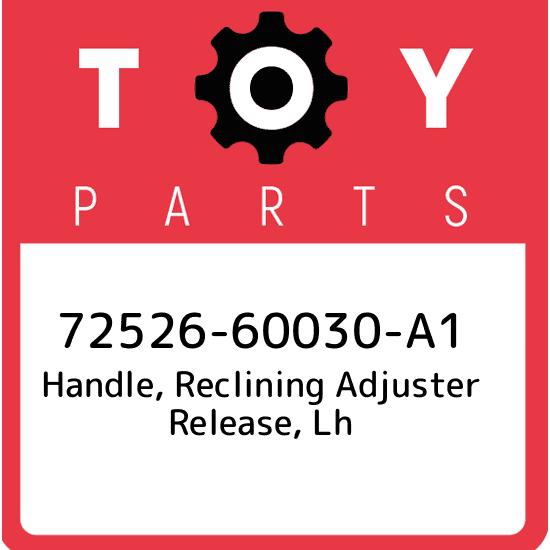 TOYOTA Genuine 72526-60070-B3 Reclining Adjuster Release Handle
