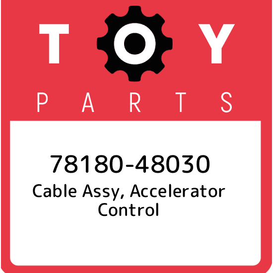 Toyota 78180-60280 Accelerator Cable Assembly