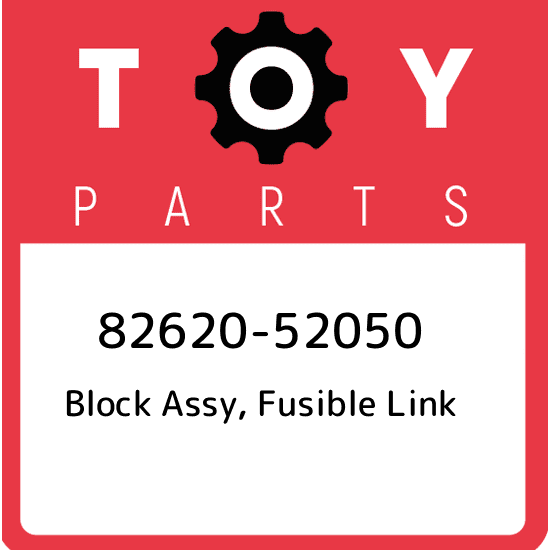 8262052050 Genuine Toyota BLOCK ASSY FUSIBLE LINK 82620-52050