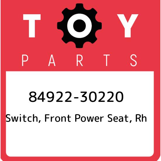 FR POWE 84922-60150 OEM 8492260150 GENUINE Toyota SWITCH