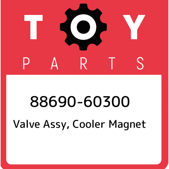 COOLER MAGNET 8869060280 OEM GENUINE Toyota 88690-60280 VALVE ASSY