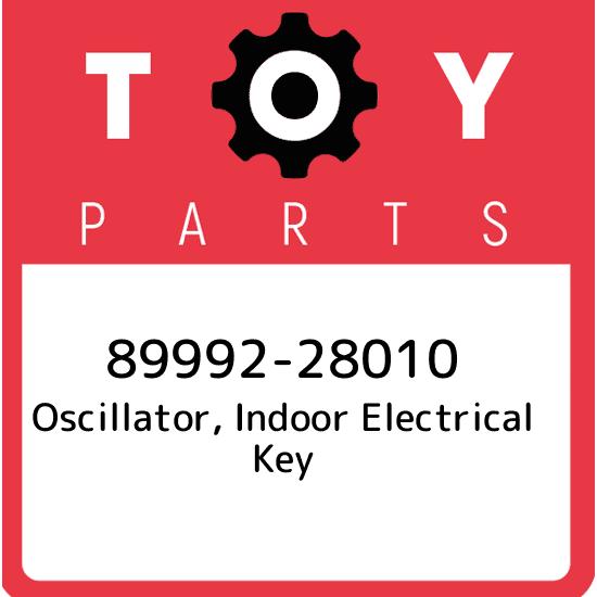 Toyota 89992-60010 Electrical Key Oscillator