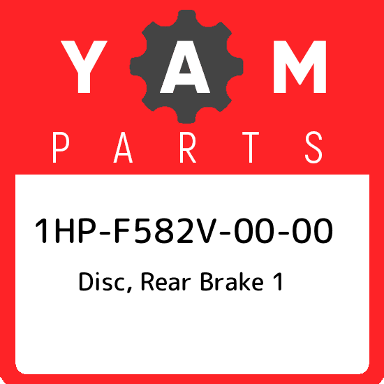 Yamaha 1HPF582V0000 Rear Disc Brake
