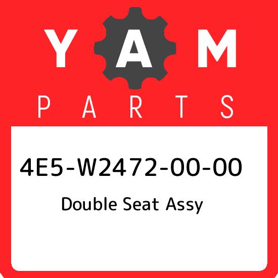 4E5-W2472-00 OEM XT500 YAMAHA Double Seat Assy
