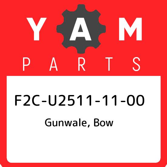 Yamaha OEM Part F2C-U2511-11-00