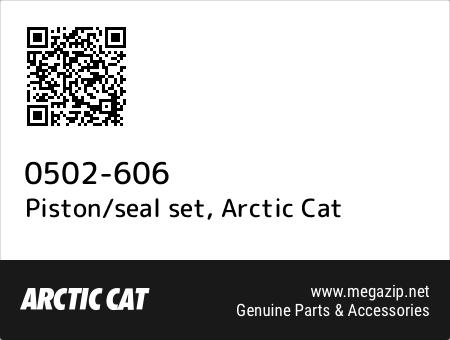 Piston/seal set, Arctic Cat 0502-606 oem parts