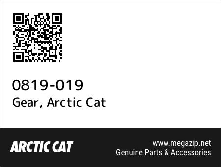Gear, Arctic Cat 0819-019 oem parts