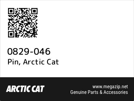 Pin, Arctic Cat 0829-046 oem parts