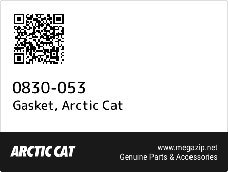 Gasket, Arctic Cat 0830-053 oem parts