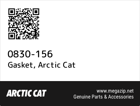 Gasket, Arctic Cat 0830-156 oem parts