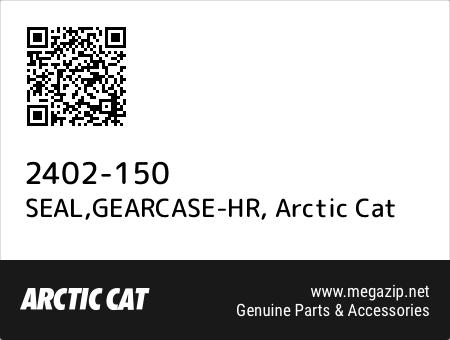SEAL,GEARCASE-HR, Arctic Cat 2402-150 oem parts