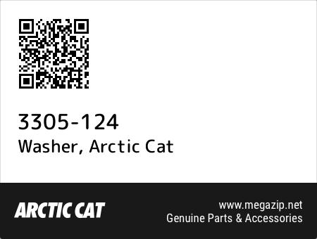 Washer, Arctic Cat 3305-124 oem parts
