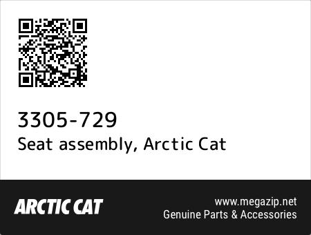 Seat assembly, Arctic Cat 3305-729 oem parts