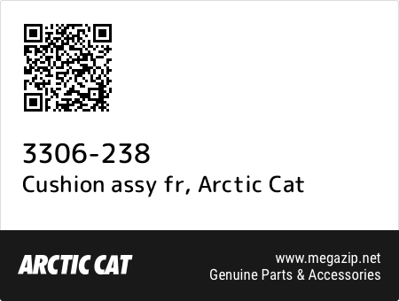 Cushion assy fr, Arctic Cat 3306-238 oem parts