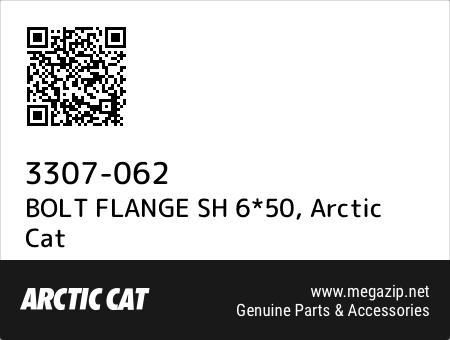 BOLT FLANGE SH 6*50, Arctic Cat 3307-062 oem parts