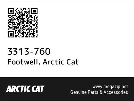 Footwell, Arctic Cat 3313-760 oem parts