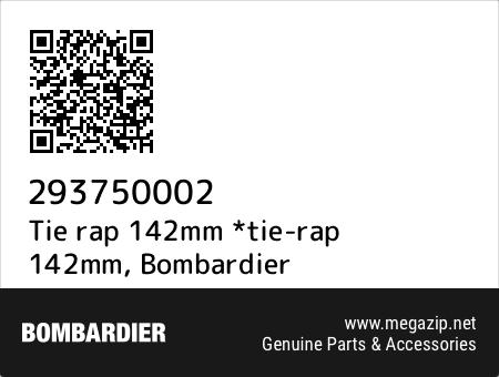 Tie rap 142mm *tie-rap 142mm, Bombardier 293750002 oem parts