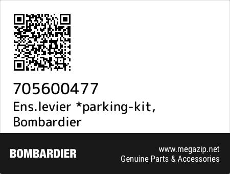 Ens.levier *parking-kit, Bombardier 705600477 oem parts