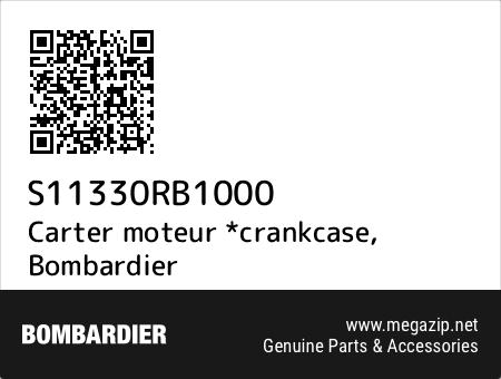 Carter moteur *crankcase, Bombardier S11330RB1000 oem parts