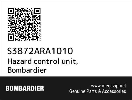 Hazard control unit, Bombardier S3872ARA1010 oem parts