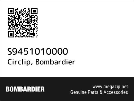Circlip, Bombardier S9451010000 oem parts