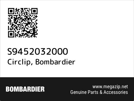 Circlip, Bombardier S9452032000 oem parts