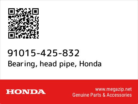 Honda OEM Part 91015-425-832